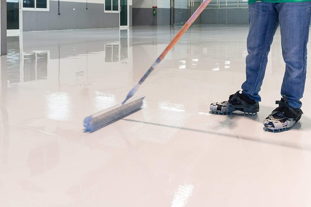 Fonteino Epoxy Resin Garage Floor Coating Anleitung zum Gebrauch