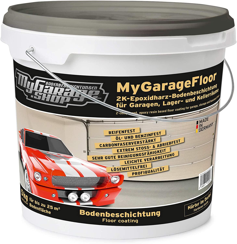 Garagenboden Beschichtung 2K Epoxidharz Bodenversiegelung Bodenfarbe review