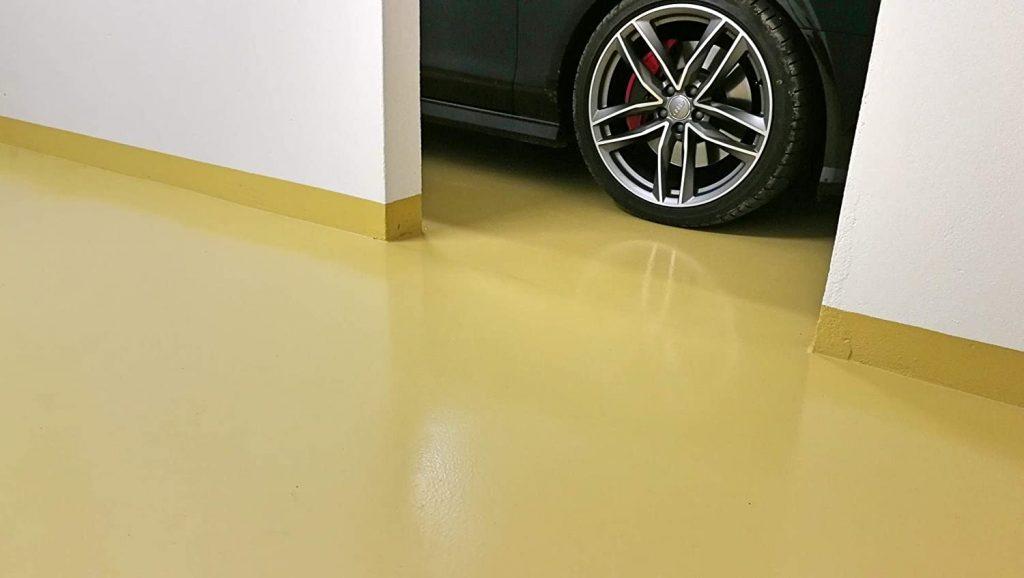 Rund um die technischen Besonderheiten Garagenboden Beschichtung 2K Epoxidharz Bodenversiegelung Bodenfarbe