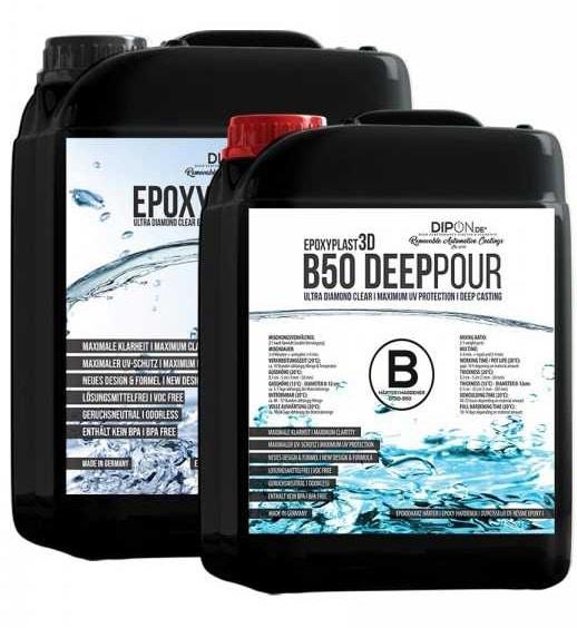 DIPON Epoxidharz EpoxyPlast 3D