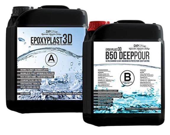 DIPON Epoxidharz EpoxyPlast 3D test